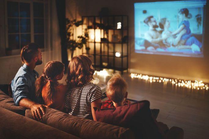 gledanje filma